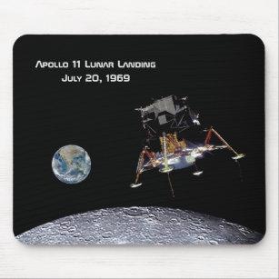 Monogram US First Luna Landing Apollo 11 Moon Landing 1969 Sticker or Magnet