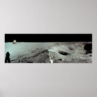 Apollo 11 Lunar Landing Site Posters