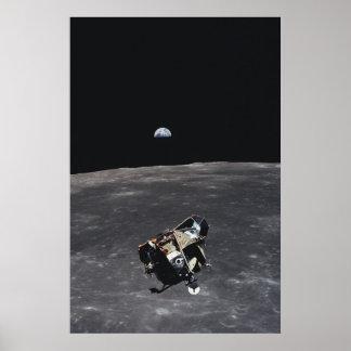 """Apollo 11 Lunar Module """"Eagle"""" Poster"""