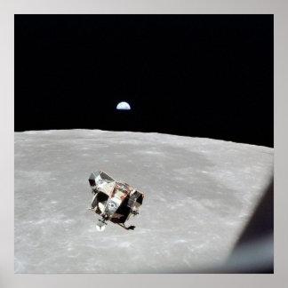 Apollo 11 Lunar Module Poster