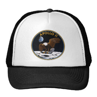 Apollo 11 mesh hats