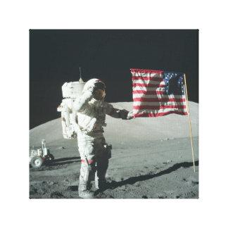 Apollo 11 Moon landing canvas print