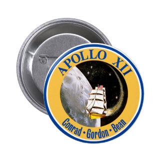 Apollo 12: Back to the Moon! Pinback Buttons