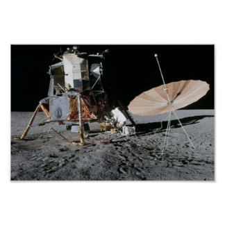 Apollo 12 Lunar Landing Site Posters