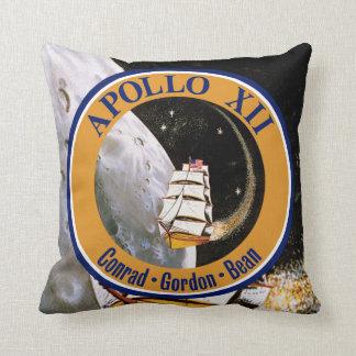Apollo 12 Mission Patch Logo Cushion