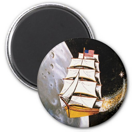 Apollo 12 Mission Patch Refrigerator Magnets