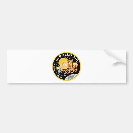 Apollo 13 bumper sticker