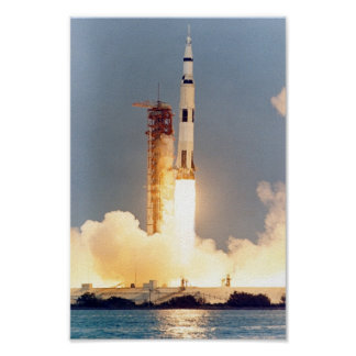 Apollo 13 Launch Poster