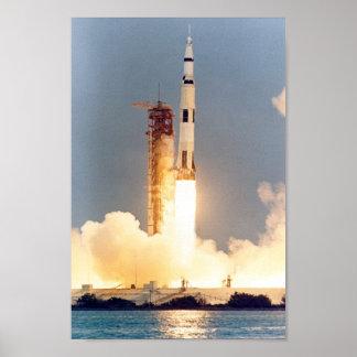 Apollo 13 Launch Poster