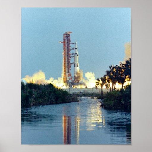Apollo 13 Launch Print