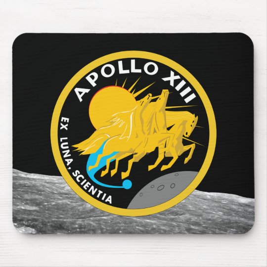 Apollo 13 NASA Mission Patch Logo Mouse Mat