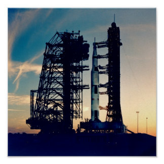 Apollo 13 on the Launch Pad Poster