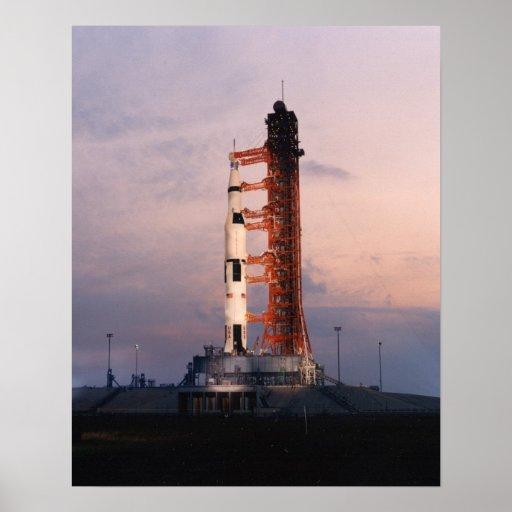 Apollo 13 on the Launch Pad Print