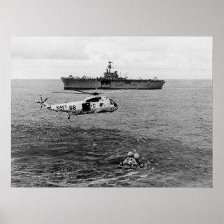 Apollo 13 Splashdown & Recovery Posters