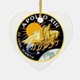 Apollo 13: Survival Ceramic Heart Decoration