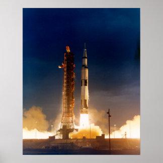 Apollo 14 Launch Poster