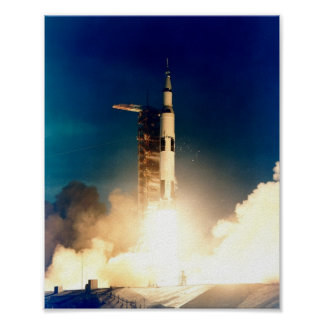 Apollo 14 Launch Poster