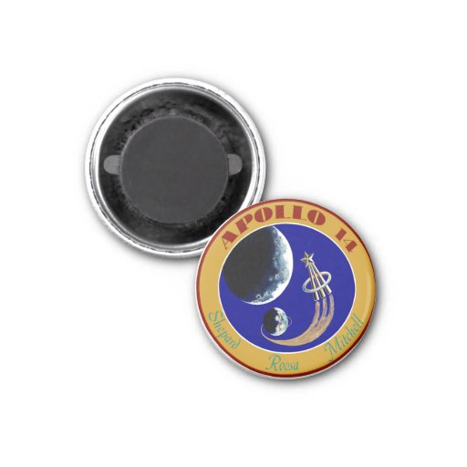 Apollo 14:  We Golf The Moon Fridge Magnet