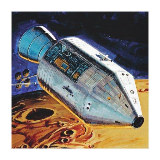 Apollo 15 Subsatellite Canvas Prints
