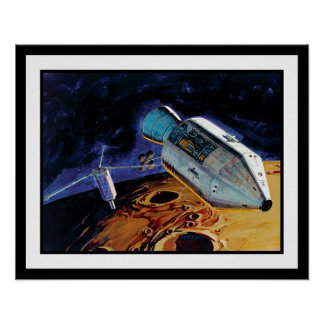 Apollo 15 Subsatellite Poster