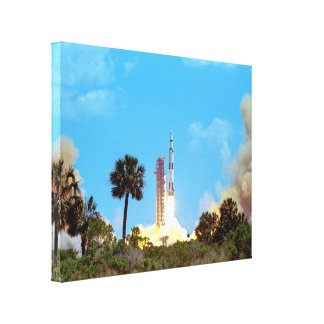Apollo 16 Launch Gallery Wrap Canvas