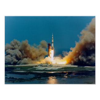 Apollo 16 Launch Poster
