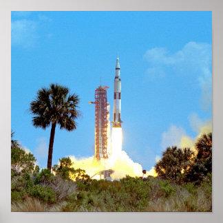 Apollo 16 Launch Poster