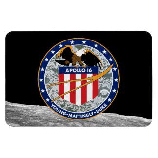 Apollo 16 Mission Patch Rectangular Photo Magnet