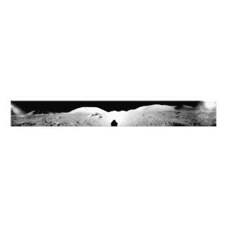 Apollo 17 assembled panorama 2 photo print