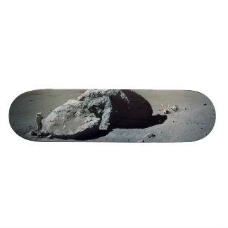Apollo 17 Astronaut and Vehicle on the Moon Custom Skate Board