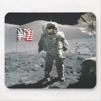 Apollo 17 Last man on the Moon Mousepad