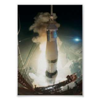 Apollo 17 Launch Poster