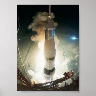 Apollo 17 Launch Poster