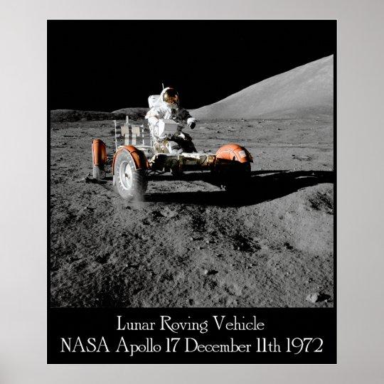 Apollo 17 Lunar Vehicle Poster
