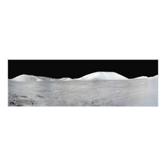 Apollo 17 Panorama Photo Print