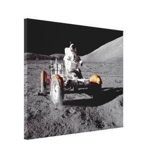 Apollo 17 Rover Stretched Canvas Prints
