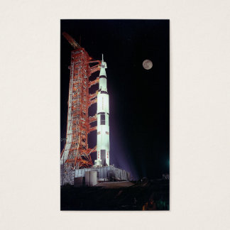 APOLLO 17 (space program mission launch) ~.jpg Business Card