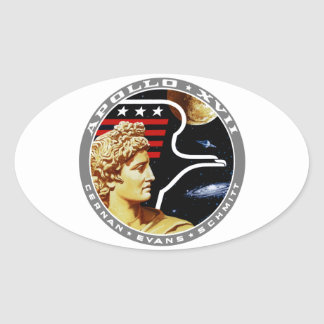 Apollo 17 The Final Hurrah Stickers