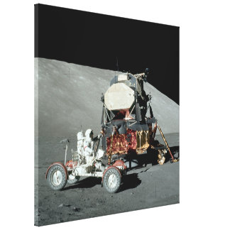 Apollo 17 - The Final Manned Moon Landing Canvas Prints