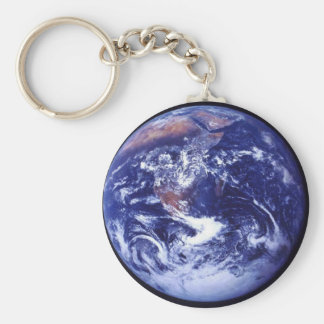 Apollo 17 view of Earth in space Key Ring