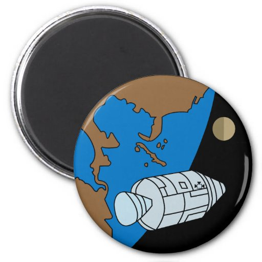 Apollo 1 Mission Patch Refrigerator Magnets