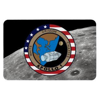 Apollo 1 Mission Patch Rectangular Photo Magnet