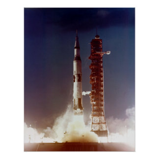 Apollo 4 Launch Poster