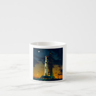 Apollo 4 Saturn V on Pad A Launch Complex 39 Espresso Cup