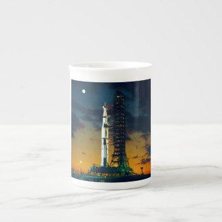 Apollo 4 Saturn V on Pad A Launch Complex 39 Tea Cup