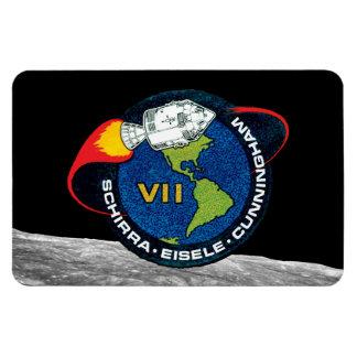 Apollo 7 Mission Patch Rectangular Photo Magnet
