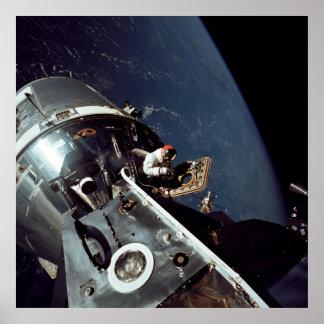 Apollo 9 Command and Service Modules Poster