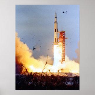 Apollo 9 Launch Poster