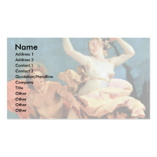 Apollo And Daphne By Tiepolo Giovanni Battista Pack Of Standard Business Cards