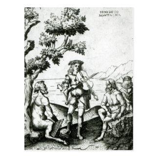 Apollo and Pan Postcard